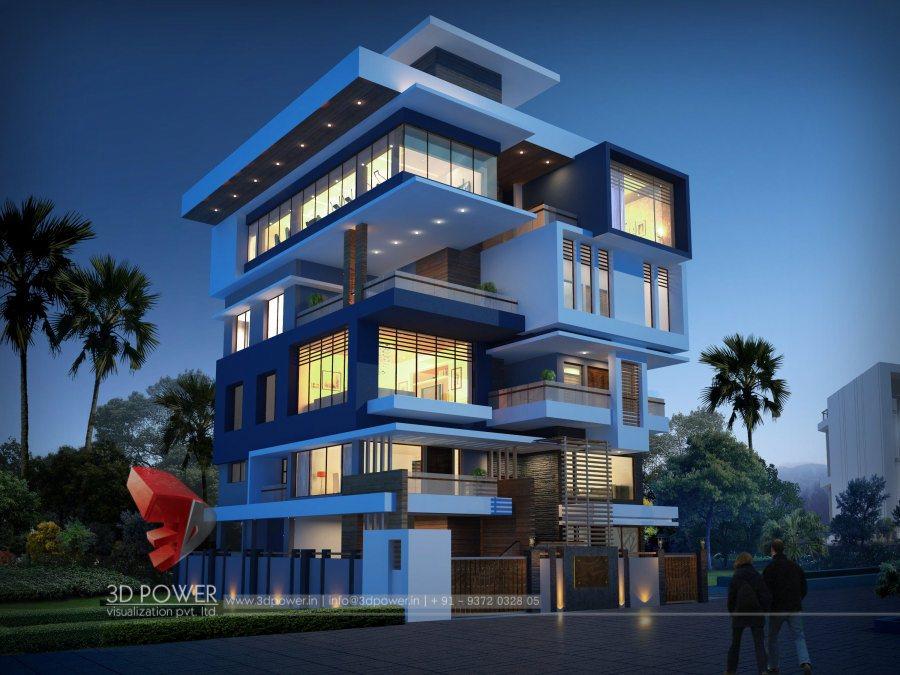 Modern bungalow 3d designs lastest bungalow 3d for Modern design building services
