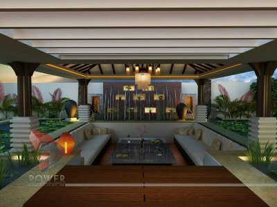Bungalow flythrough thiruvananthapuram 3d power for Architecture design for home in punjab