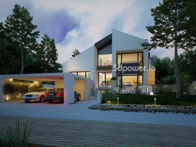 3D Bungalow Front Views