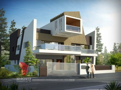 3D Panoramic  Architectural Bungalow