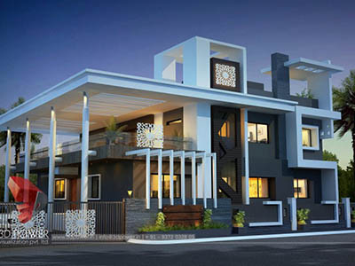 3d-interior-rendering-services-bungalow-night-view
