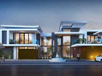 3d-landscape-design-bungalow-night-view-in-hyderabad-3d-design-studio-bungalow-3d-modeling-&-rendering-services