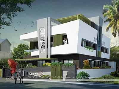 3d-walkthrough-animation-studio-bungalow-evening-view