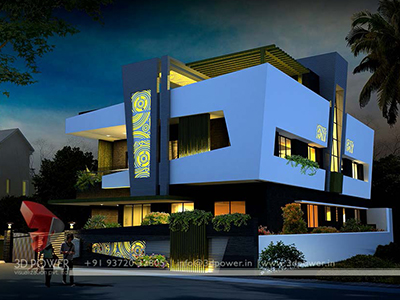 3d-walkthrough-animation-studio-bungalow-night-view
