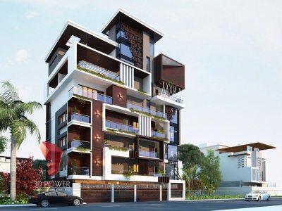3d-walkthrough-rendering-3d-walkthrough-bungalow-eye-level-view-day-view-in-pune-city