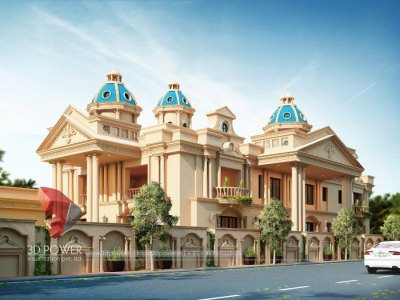 Best-3d-architectural-design-studio-traditional-bungalow-rendering-services-bungalow-birds-eye-view-3d-animation-studio-pune