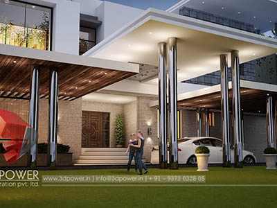 best-architectural-rendering-services-bungalow-evening-view