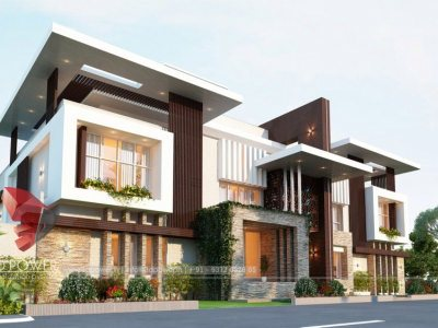 best-architectural-visualization-service-providers-pune-bungalow-day-view-animation-rendering-company