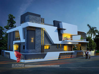 best-architectural-visualization-services-bungalow-night-view