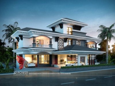 best-bungalow-rendering-services-in-hyderabad-architectural-visualization-night-view-exterior-design-rendering