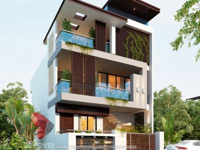 modern-bungalow-elevation-for-pune-3d-design-rendering-services-day-view