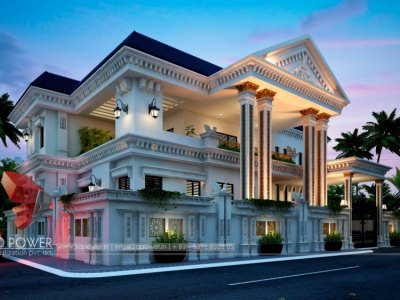 top-architectural-rendering-services-bungalow-3d-3d-virtual-tour-bungalow-night-view-in-hyderabad