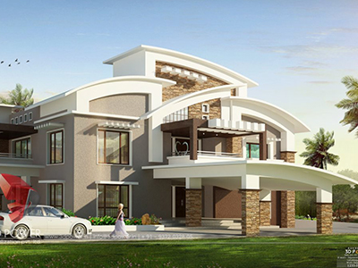 top-architectural-rendering-services-bungalow-eye-level-view