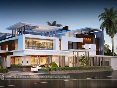 walkthrough-rendering-services-bungalow-night-view