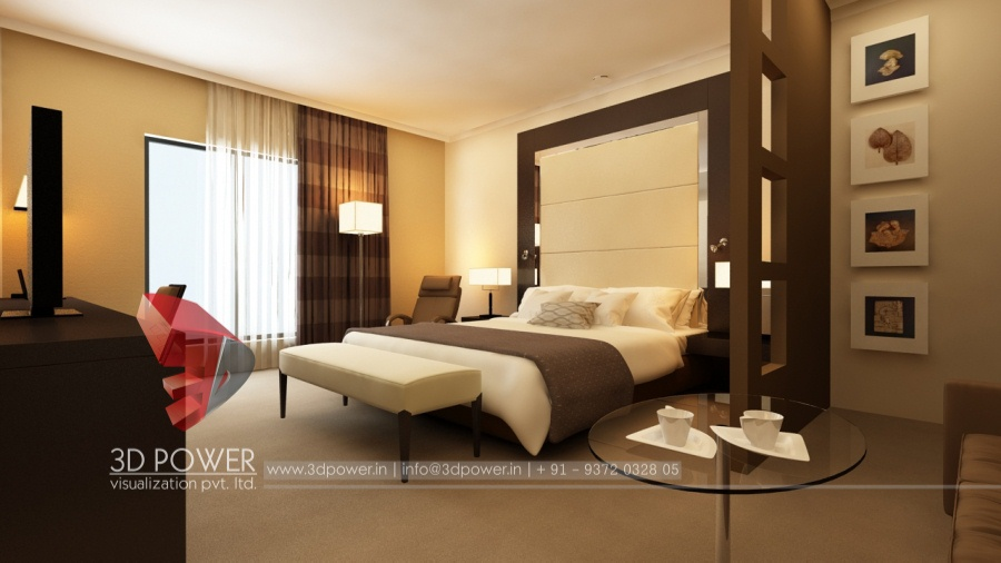 ... 3D Bedroom Architectural Interior ...