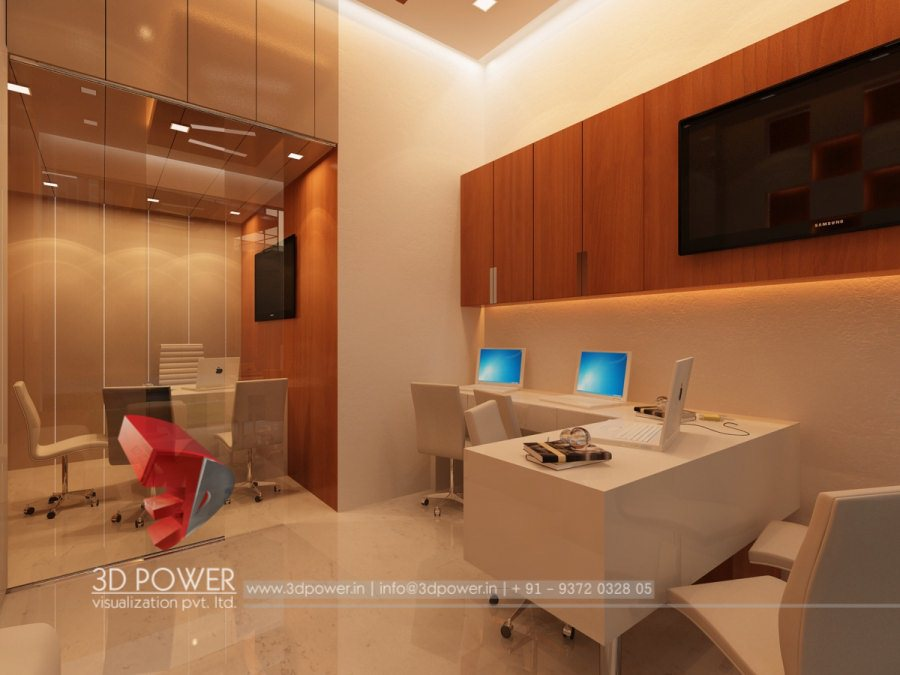 Interior architecture nagpur 3d power for Office interior design services