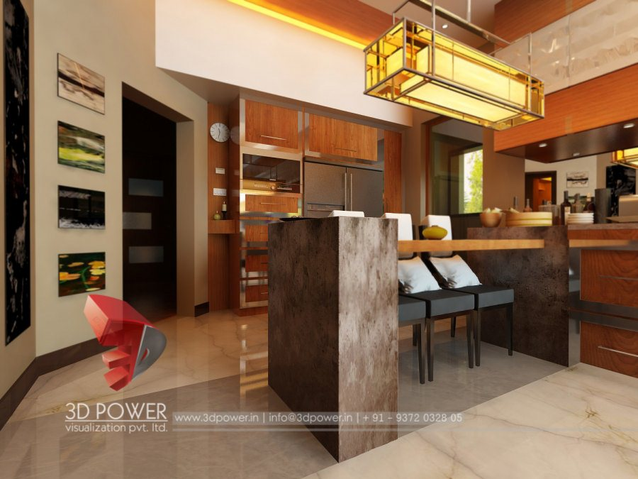 Interior visualization gurdaspur 3d power for Kitchen design visualiser
