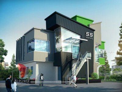 Interior mumbai 3d power for Exterior home design in chennai
