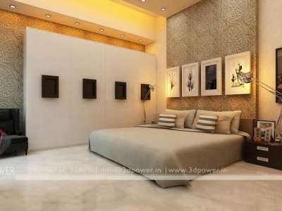 3D Interior Architectural Bedroom