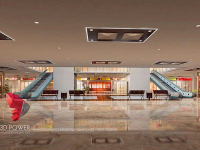 3D Visualization Interior Mall