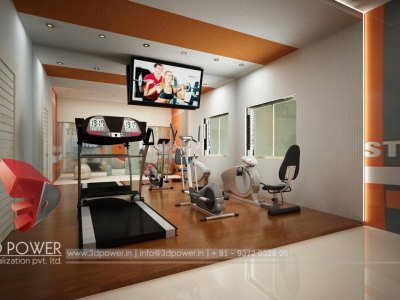 Architectural Interior Gym