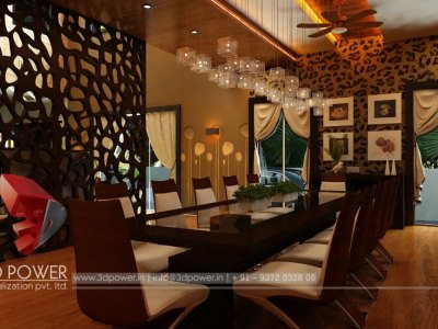 Dining Room Rendering Interior