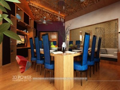 Dining Room Visualization Interior