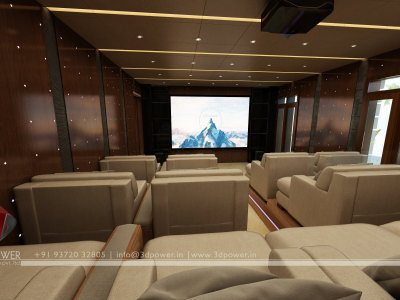 HomeTheater 3D Interior