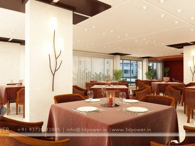 Interior Rendering Design Hotel