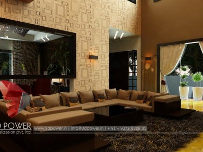 Interior Visualization  Living Room