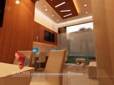 Office Interior Design Visualization