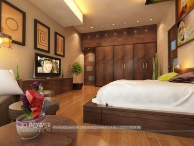Panoramic Interior Visualization Bedroom