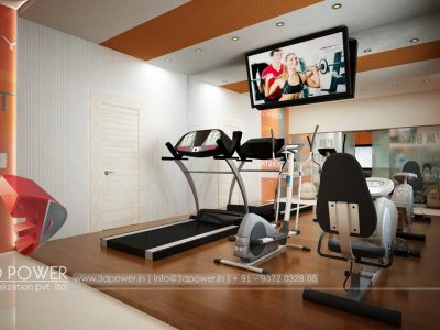 Rendering Interior Gym