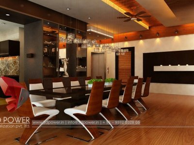 Visualization Interior Dining Room