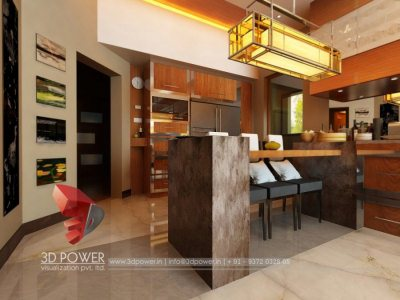 Visualization Interior Kitchen