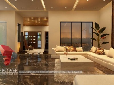 Visualization Interior Living Room