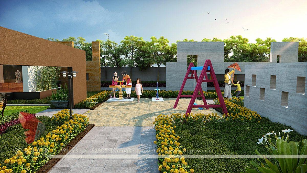 Township Designing Studio Tumkur 3d Power