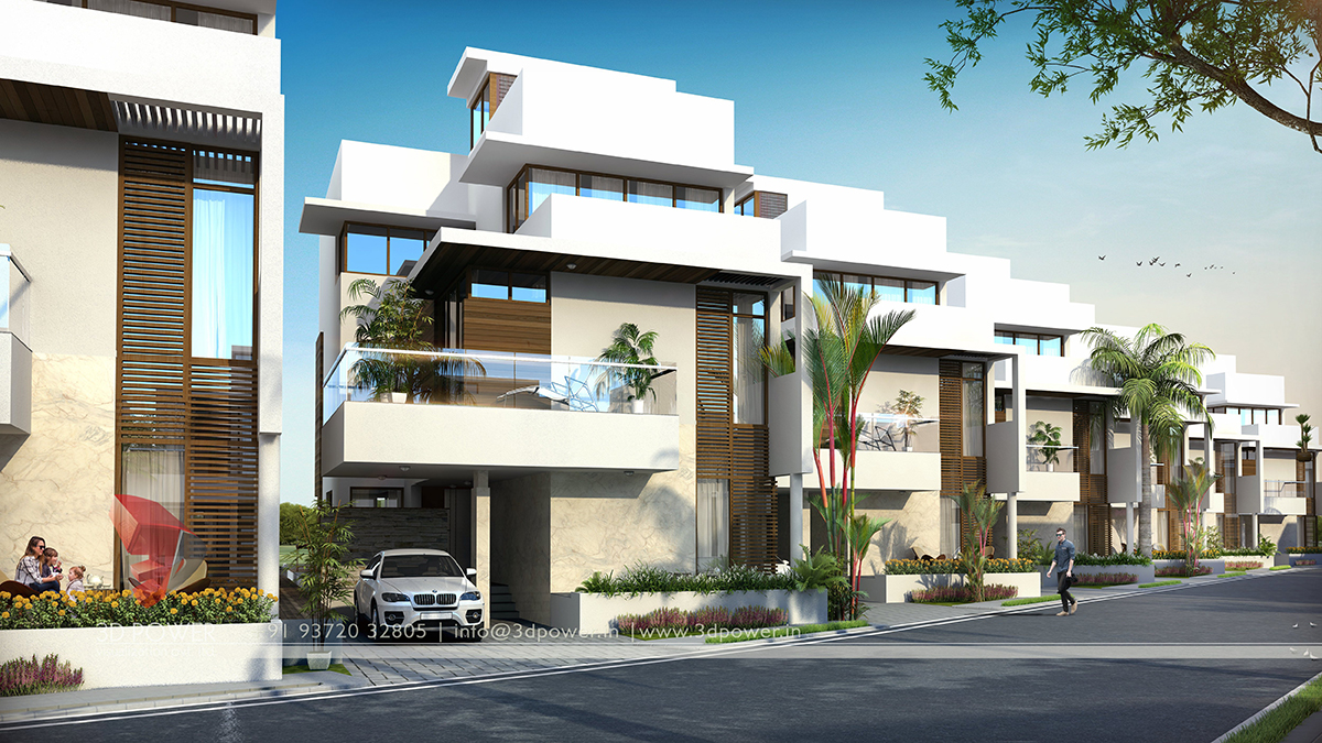 Township walkthrough bargarh 3d power for 3d apartment design