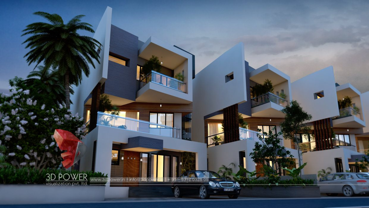 Chandigarh 3D House View