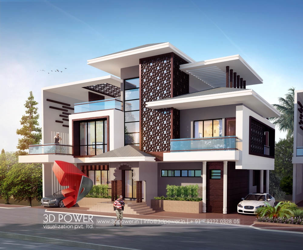 Best architectural rendering services 3d power for Architectural design services