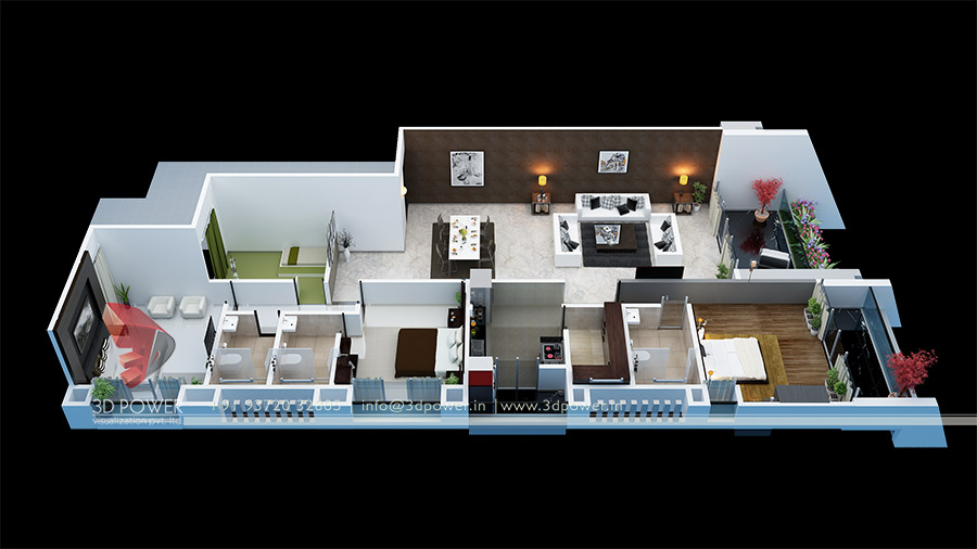 3D Floor Plans | 3D Power