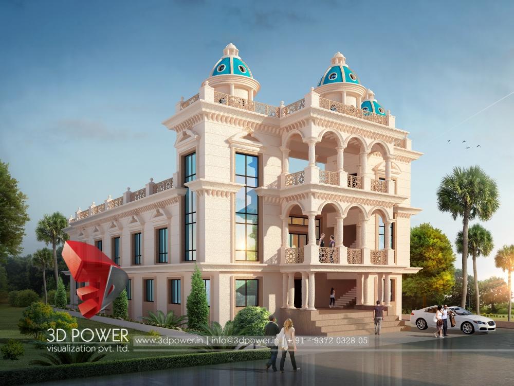 Building Exterior: Exterior Design Rendering
