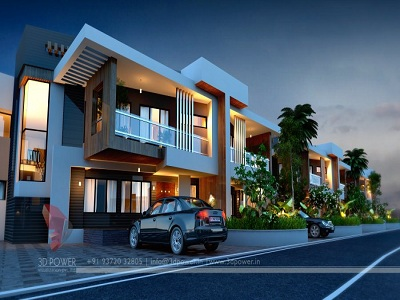 bungalow-3d-exterior-rendering-service-night-view