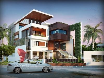 high-class-bungalow-3d-visualization-studio