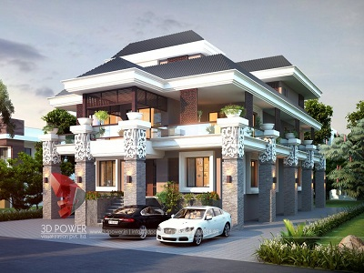high-class-bungalow-with-3d-model-rendering