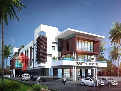 hospital-building-3d-exterior-view