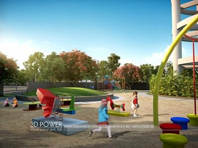 playing-zone-for-children-3d-landscape-design