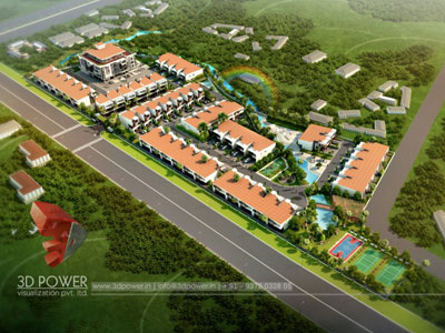 3d Township Design Architecture