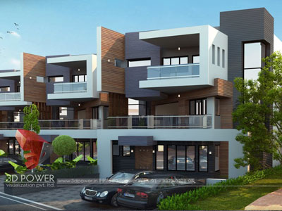 3d Township Rendering Designs