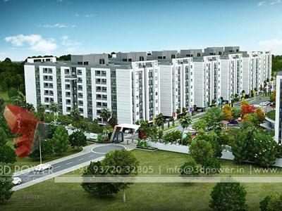3d Township Rendering Mumbai